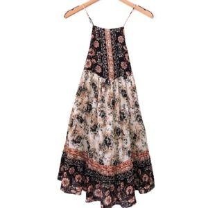 Free People Floral Print Dress